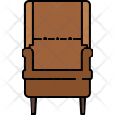 Lean Chair Seat Icon