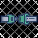 Seat Belt Safety Straps Safety Bracket Icon