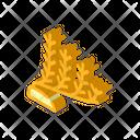 Marine Seaweed Isometric Icon