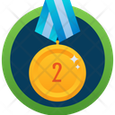 Second Medal Icon