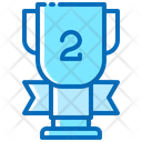Second Place Trophy Icon