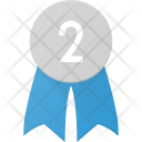 Badge Second Place Icon