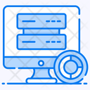 Secondary Data Data Storage Data Entry Icon