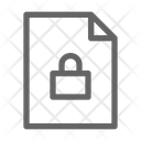 Secret Document Confindential Icon