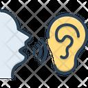 Secret Talk Wave Icon