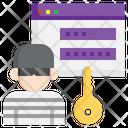 Secret Access Secret Confidential Icon