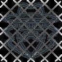 Agent Anonymity Anonymous Icon