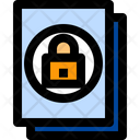 Secret File Confidental Secret Icon