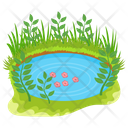 Secret Island Island Lake Island Icon