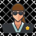 Secret service lady Icon