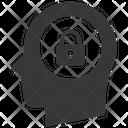 Closed Head Idea Protection Icon