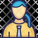 Secretary Amanuensis Assistant Icon