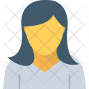Secretary Female Amanuensis Icon