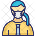 Secretary Amanuensis Assistant Icon