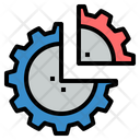 Sector Partition Devide Icon
