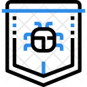 Secure Safety Shield Icon