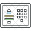Secure Transaction Payment Icon