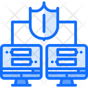 Secure Connection Messenger Icon