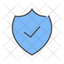 Secure Shield Protected Icon