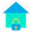 Secure Home Secure House Lock Home Icon