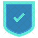 Secure Approved Shield Shield Icon