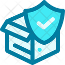 Secure Donation Shield Icon