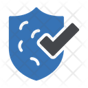 Secure Shield Tick Icon