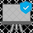 Secure School Education Icon