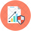 Secure Document Graph Icon