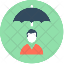 Secure Job Employee Icon