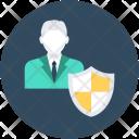 Secure User Shield Icon