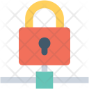 Secure Sharing Lock Icon