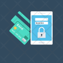 Secure Banking Internet Icon