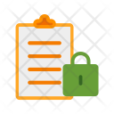 Secure Data File Icon