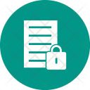 Secure Data Lock Icon