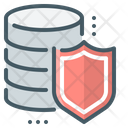 Data Database Secure Backup Icon