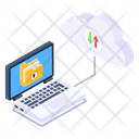 Cloud Data Secure Backup Cloud Backup Icon