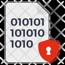 Secure Binary Code Icon