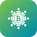 Secure Bitcoin Icon