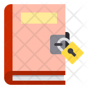 Book Lock Education Icon