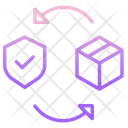 Secure Box Secure Package Secure Parcel Icon