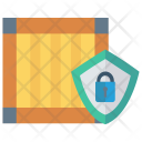 Shield Lock Protection Icon