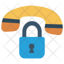 Secure Call Lock Icon