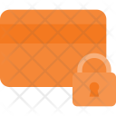 Security Lock Card Icon