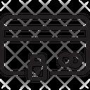Key Lock Secure Card Lock Card Icon