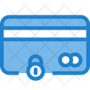 Lock Secure Card Private Card Icon