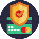 Secure Card Mastercard Online Payment Icon