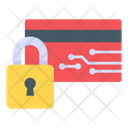 Card Protection Secure Card Card Lock Icon