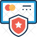 Secure Card Shield Icon
