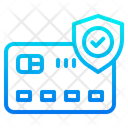 Credit Cart Mobilephone Protect Icon